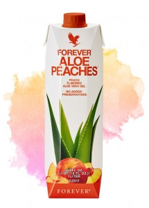Forever Aloe Peaches™ | Aloes do Picia